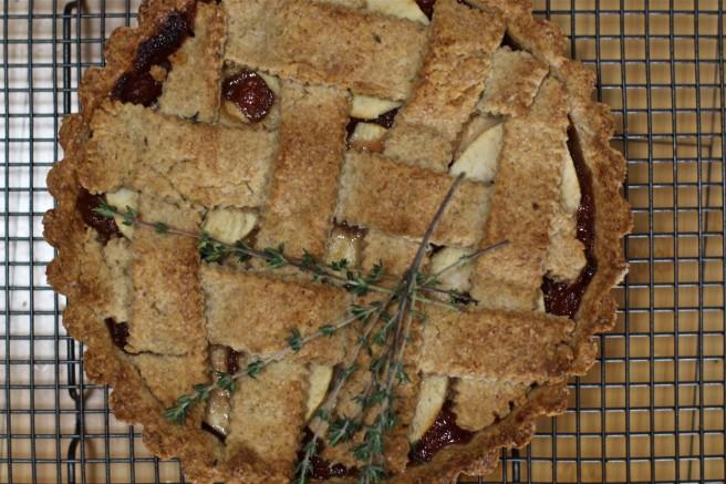 Spelt flour tart